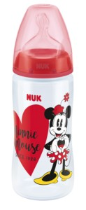 Butelka NUK First Choice+ Disney Myszka Miki z PP 300 ml, silikon